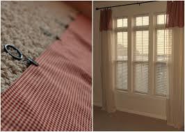 dwelling u0026 telling diy adding length to curtains