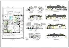 Plans For Houses Architectural Plan Sizes