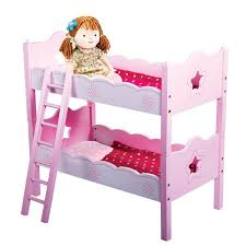 Doll Bunk Bed Wooden Set SVAN - Dolls bunk bed