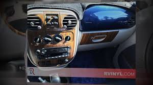 rdash chrysler pt cruiser dash kits youtube