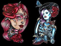 tattoo ideas zombie pop culture and fashion magic pin up girls and pin up tattoos a