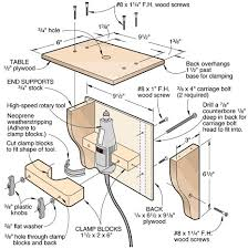 Diy Table Plans Free by How To Build A Router Table 36 Diys Guide Patterns