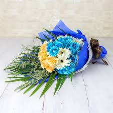 blue roses delivery bouquets flowers delivery singapore sgfa5996 bouquet