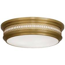 Brass Ceiling Light Modern Brass Flush Mount Lighting Allmodern