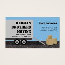 company cards company business cards moving company business card zazzle