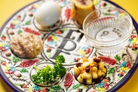 seder meal plate mini seder at easthton community center on tuesday