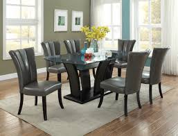 Black Dining Room Furniture by F2153 Black Dining Table By Poundex