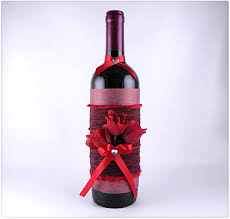 how to decorate a wine bottle for a gift decorated wine bottle tepper