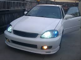 honda civic modified white civic grill clubcivic com your online civic community
