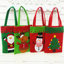 christmas gift bag fashion arts and crafts handmade large fabric christmas gift bag