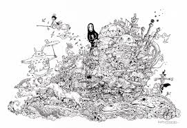 kerby rosanes doodler by night lost in internet