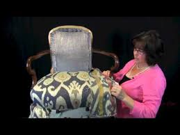 How To Use Accent Chairs How To Upholster A Wooden Arm Chair For The Upholstery Beginner