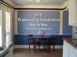 Tips For Painting Wainscoting How To Install Tall Wainscoting 100 For About 10 33 Ft The Joy