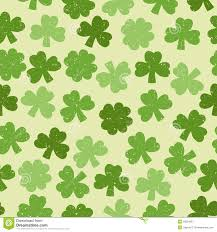 green seamless clover pattern stock image image 35091851