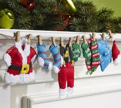 santa s laundry bucilla felt garland kit photo large felt kits