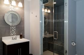 Basement Bathroom Design Ideas On Pinterest Flooring And Gray - Basement bathroom design