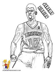 coloring pages basketball players coloring home