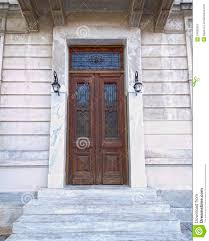 neoclassical home plans elegant neoclassical house door stock image image 24852001