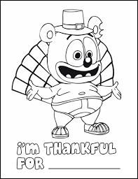 gummibär thanksgiving coloring page contest gummibär