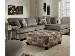 Sectional Sofa With Ottoman Albany 8642 Transitional Sectional Sofa With Chaise Furniture