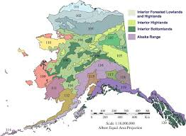 Alaska vegetaion images Alaska vegetation map png
