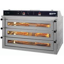 Toaster Oven Pizza Pizza Oven For 6 Pizzas Jet Air Convection 3 Decks Gas