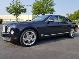 bentley mulsanne used 2011 bentley mulsanne for sale alpharetta ga