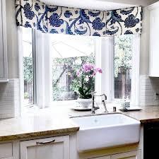 kitchen bay window treatment ideas bay window valance houzz valances for bay windows in kitchen bay