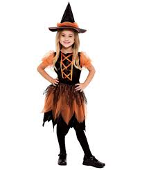 pumpkin patch witch kids halloween costume girls witch costumes