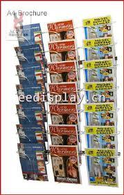 Business Card Racks 4 Sides Flooring Metallic Greeting Card Display Rack By Rotat