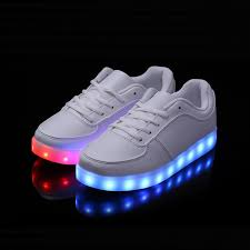 Glow In The Dark Lights Online Shop Led Luminous Shoes Casual 7 Colors Light Up Glow In