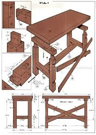Simple Wood Workbench Plans by Best 25 Simple Workbench Plans Ideas On Pinterest Workbench
