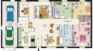 plan maison simple 3 chambres plan de maison simple 3 chambres avec garage bricolage maison