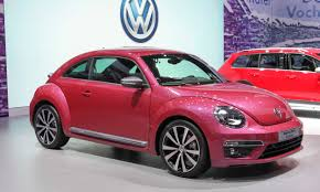 volkswagen beetle pink pictures from the new york auto show autonxt