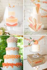 peach ombre wedding cake peach wedding cake inspiration archives rock my wedding uk
