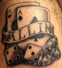 13 poker tattoo designs images and ideas