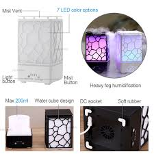 mist humidifier air ultrasonic humidifiers aroma essential 200ml aroma essential oil diffuser ultrasonic air humidifier