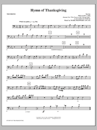 hymn of thanksgiving sheet direct