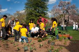 burpee funds white house kitchen garden with 2 5 million gift