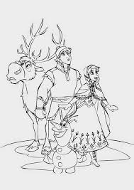olaf frozen coloring page free coloring download