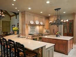 kitchen design island seating layout french country kitchen look