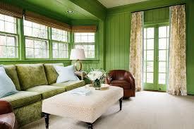 Sunroom Sofas Apple Green Sunroom With Green Shiplap Walls Cottage Living Room