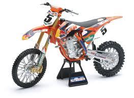 red bull motocross gear new ray toys redbull ktm 450sx f dungey 1 6 model revzilla