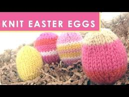 Knitted Easter Egg Decorating Patterns by How To Knit An Easter Egg Quick Knit Softies Youtube