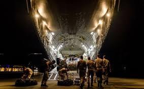 royal navy arrives in british virgin islands bringing much needed