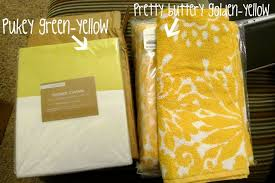 Yellow Stripe Curtains Tutorial How To Make A Striped Shower Curtain Welcome To Heardmont