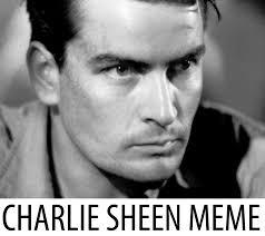 Charlie Sheen Memes - charlie sheen logo png