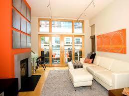 bedroom winning living room decor terrific combination orange