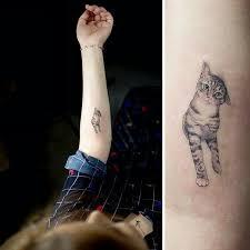 the 25 best cute cat tattoo ideas on pinterest minimalist cat