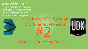 tutorial 3ds max udk modular level design making a building